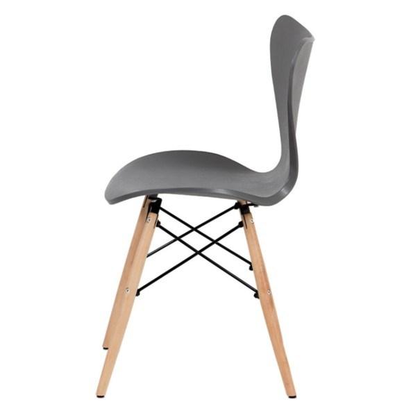 Jídelní židle DARINA šedá/buk 3