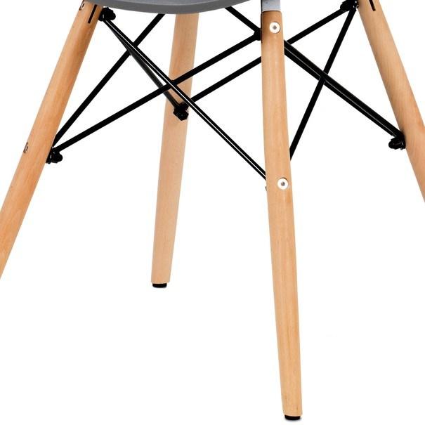 Jídelní židle DARINA šedá/buk 7