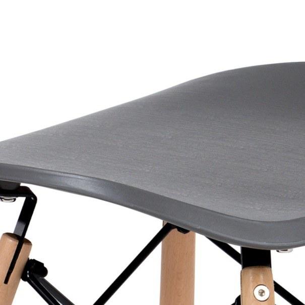 Jídelní židle DARINA šedá/buk 8