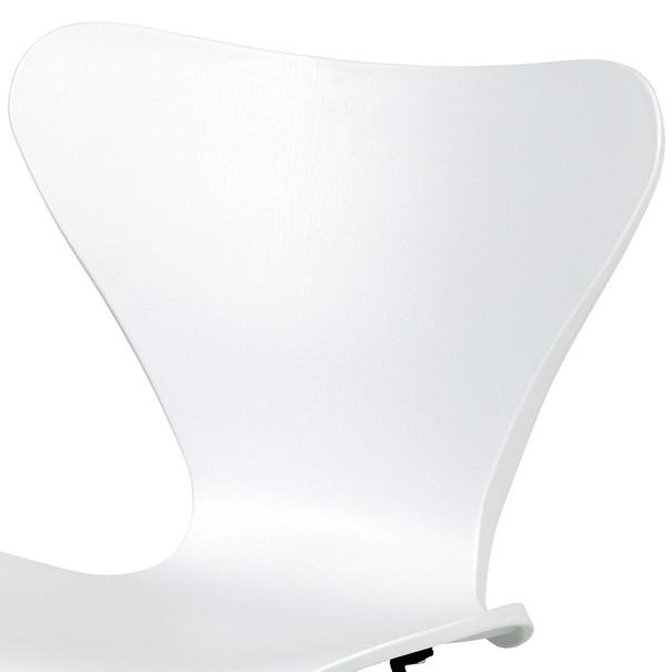 Jídelní židle DARINA bílá/buk 5