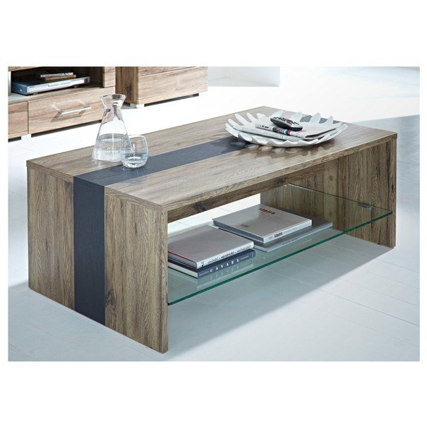 Konferenčný stolík DEAL dub sanremo/bridlice 1
