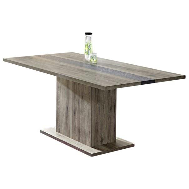 Jedálenský stôl DEAL dub sanremo/bridlice 1