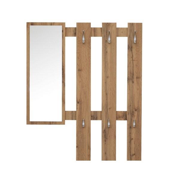 Předsíňový panel DELFI dub wotan 1