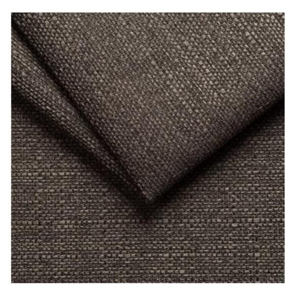 Taburet DELOS čierno-hnedá 2
