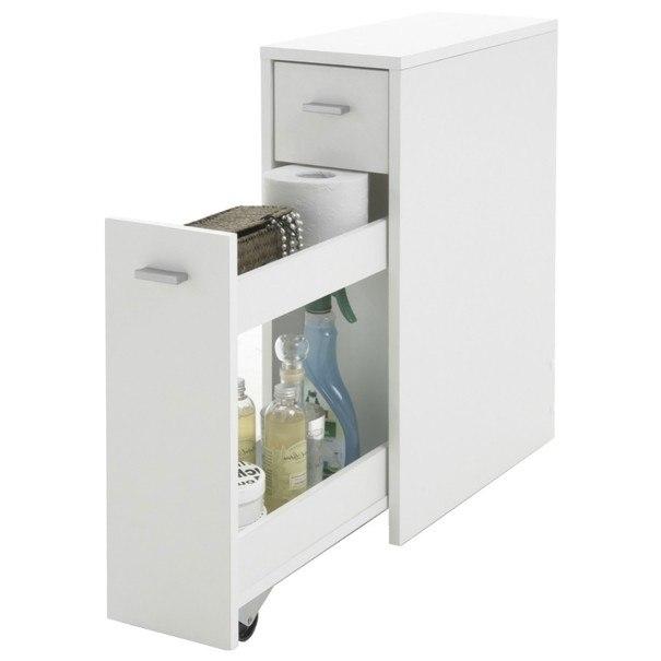 Koupelnová komoda DENIA bílá 2