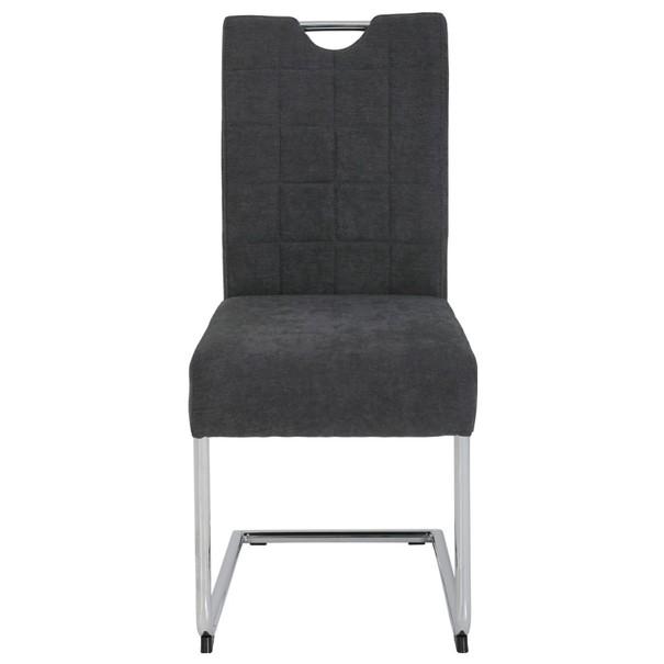 Jedálenská stolička DENISE S antracitová 2
