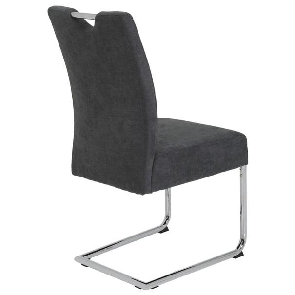 Jedálenská stolička DENISE S antracitová 4