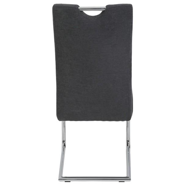 Jedálenská stolička DENISE S antracitová 5