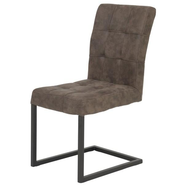 Stolička DONNA S hnedá 1