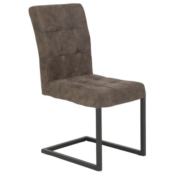 Stolička DONNA S hnedá 2