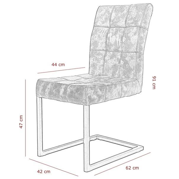 Jídelní židle     DONNA S hnědá 9