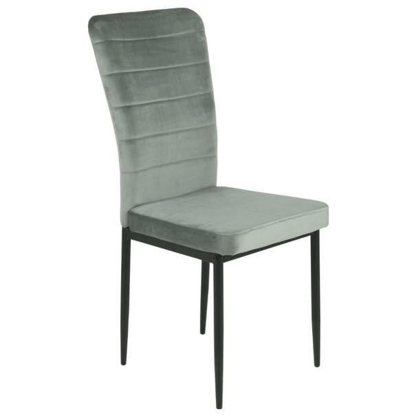 Jedálenská stolička DORO S sivá 3