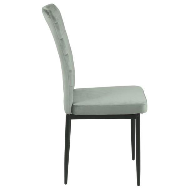 Jedálenská stolička DORO S sivá 4