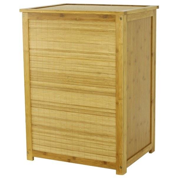 Koš na prádlo DR030 bambus 1