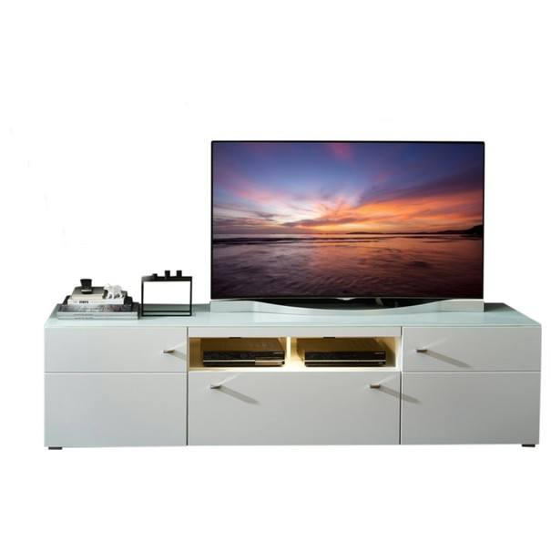 TV stolík DURBAN biela 1