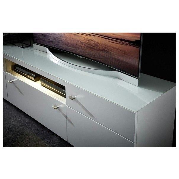 TV stolík DURBAN biela 2