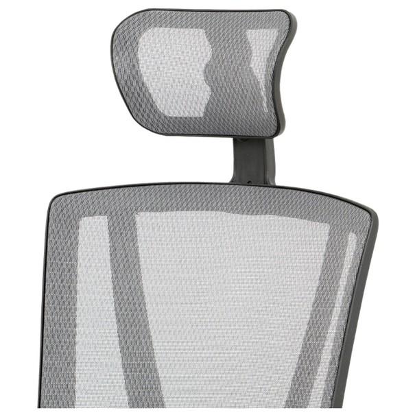 Kancelářská židle EDWARD černá/šedá 5