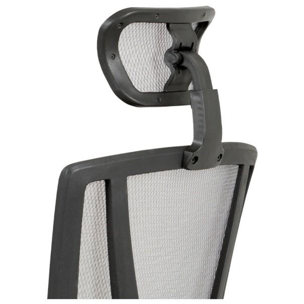 Kancelářská židle EDWARD černá/šedá 7