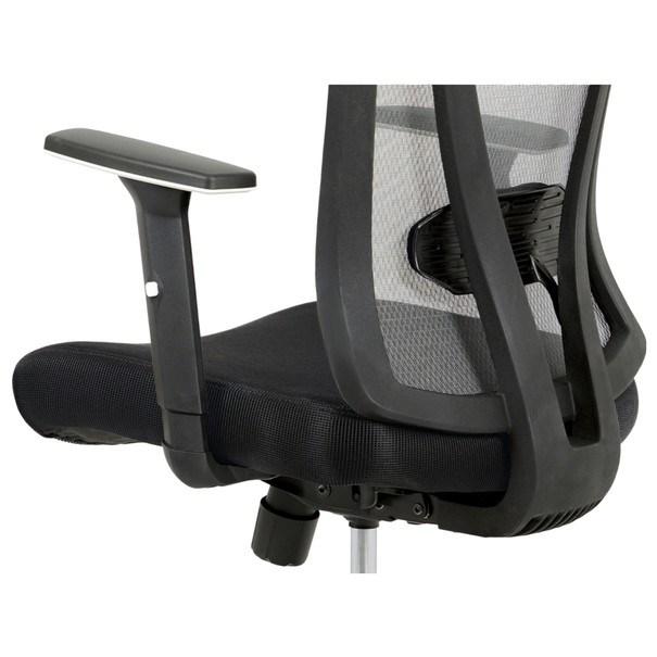 Kancelářská židle EDWARD černá/šedá 8