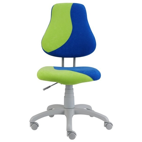 Dětská židle ELEN S-LINE modro-zelená 1