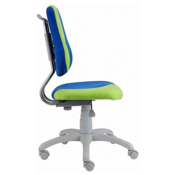 Dětská židle ELEN S-LINE modro-zelená 3