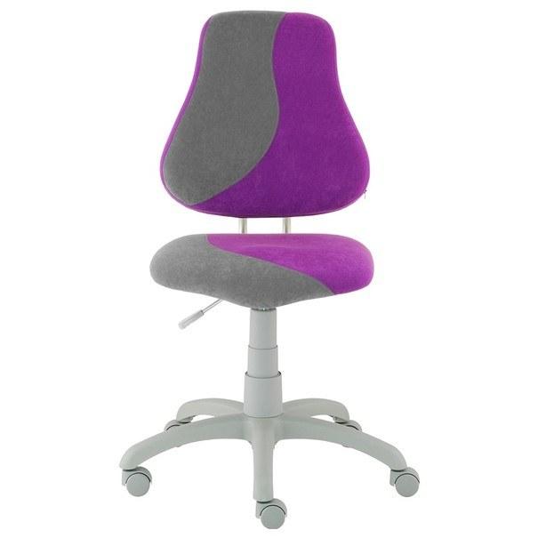 Dětská židle ELEN S-LINE fialovo-šedá 1