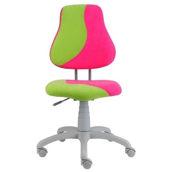 Dětská židle ELEN S-LINE růžovo-zelená 1