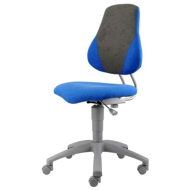 Kancelářská židle ELEN modrá/šedá 1