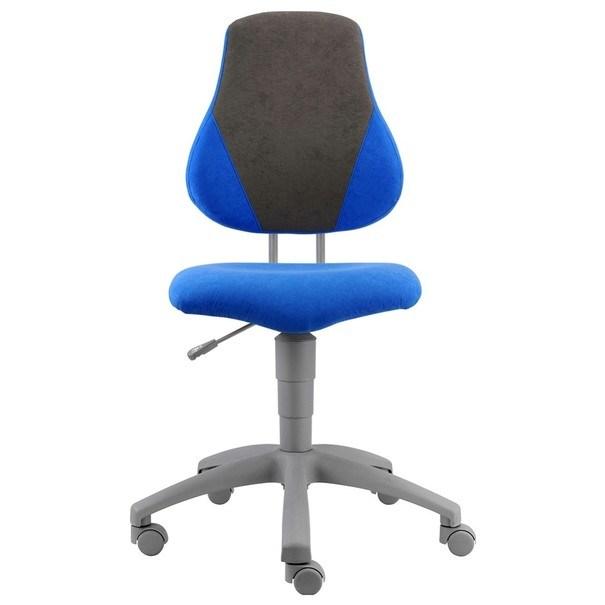 Kancelářská židle ELEN modrá/šedá 2