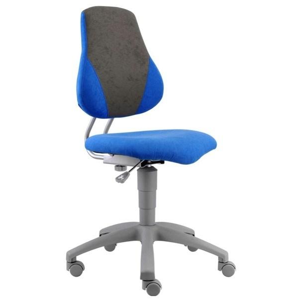 Kancelářská židle ELEN modrá/šedá 3