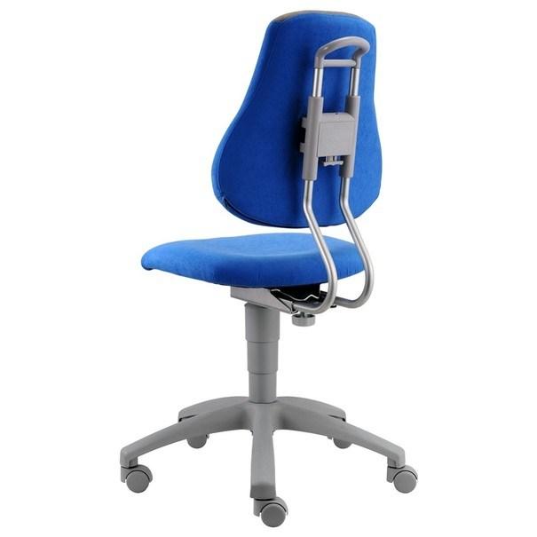 Kancelářská židle ELEN modrá/šedá 4