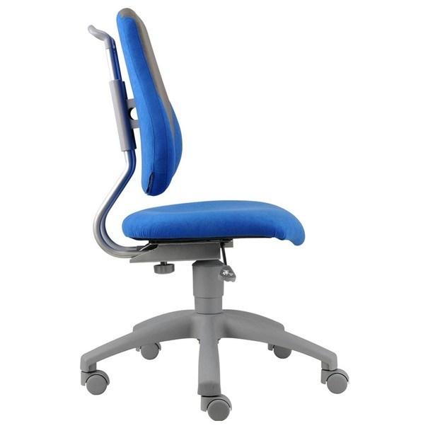 Kancelářská židle ELEN modrá/šedá 6