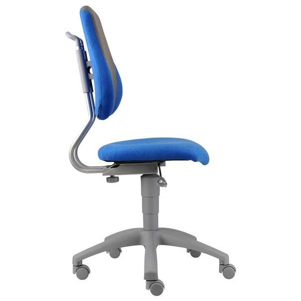 Kancelářská židle ELEN modrá/šedá 8
