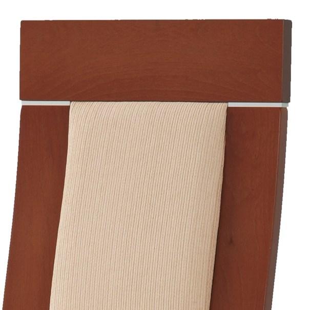 Jídelní židle ELENA třešeň/béžová 3