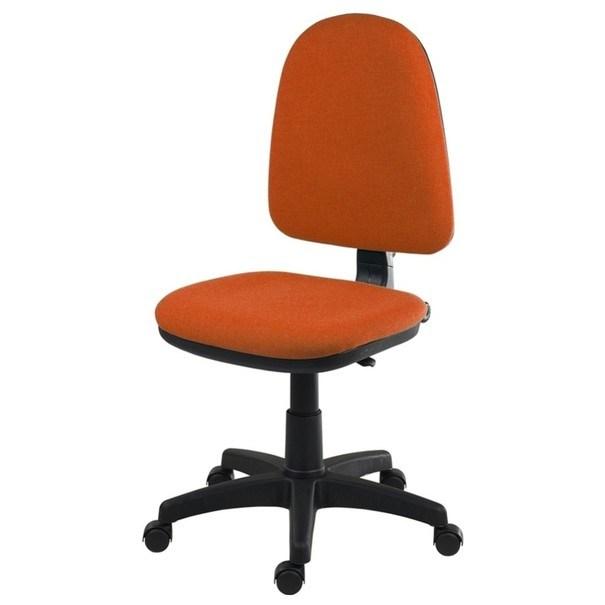 Sconto Kancelářská židle ELKE oranžová - nábytek SCONTO nábytek.cz