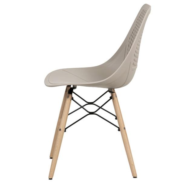Jedálenská stolička ELODY cappuccino 3