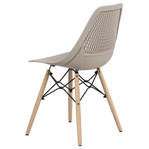 Jedálenská stolička ELODY cappuccino 4