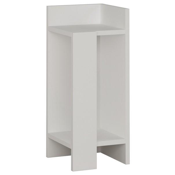 Sconto Noční stolek ELOS bílá, pravé provedení - nábytek SCONTOnábytek.cz