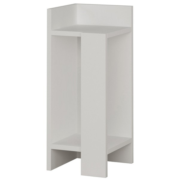 Sconto Noční stolek ELOS bílá, levé provedení - nábytek SCONTOnábytek.cz