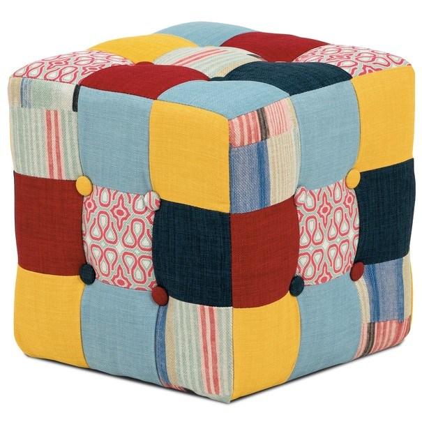 Taburet ELZA patchwork 2