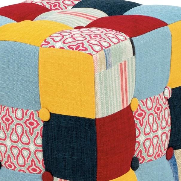 Taburet ELZA patchwork 3