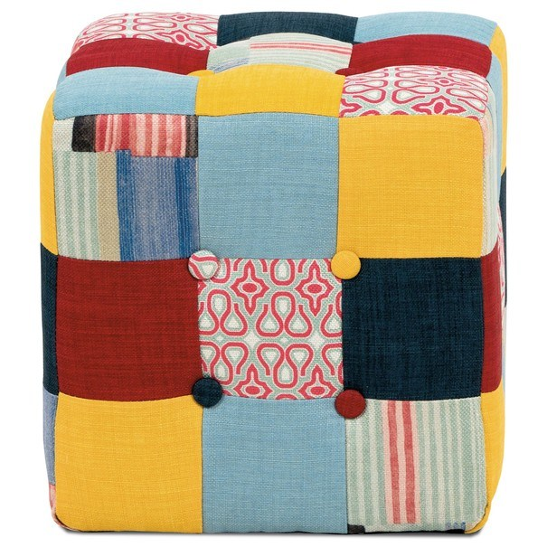 Taburet ELZA patchwork 4