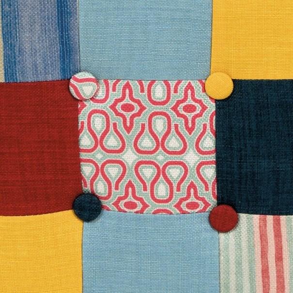 Taburet ELZA patchwork 7