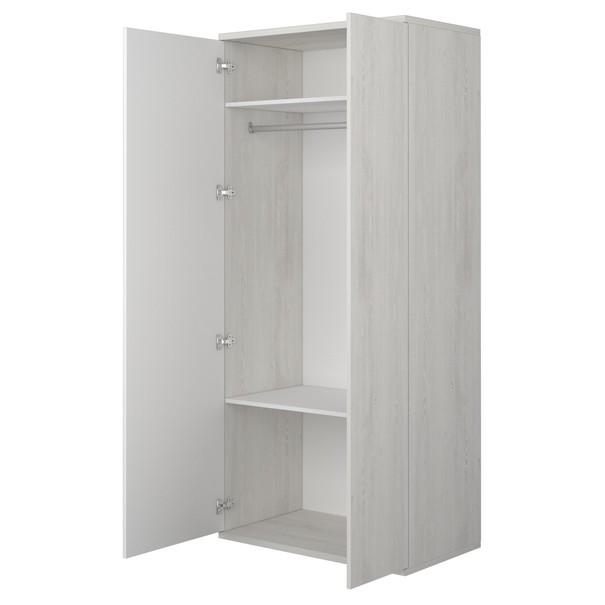 Šatní skříň EMMET pinie cascina/bílá 3