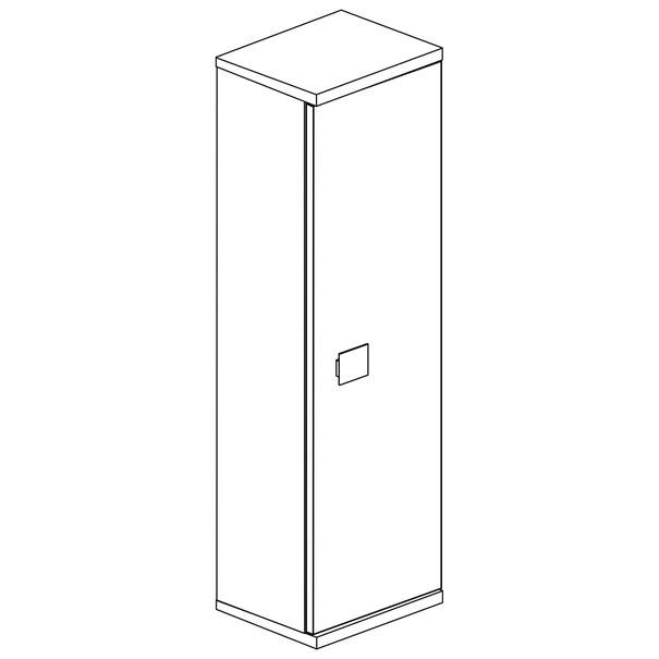 Šatní skříň EMMET pinie cascina 3