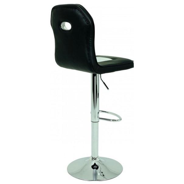 Barová židle ESMÉ černobílá 3