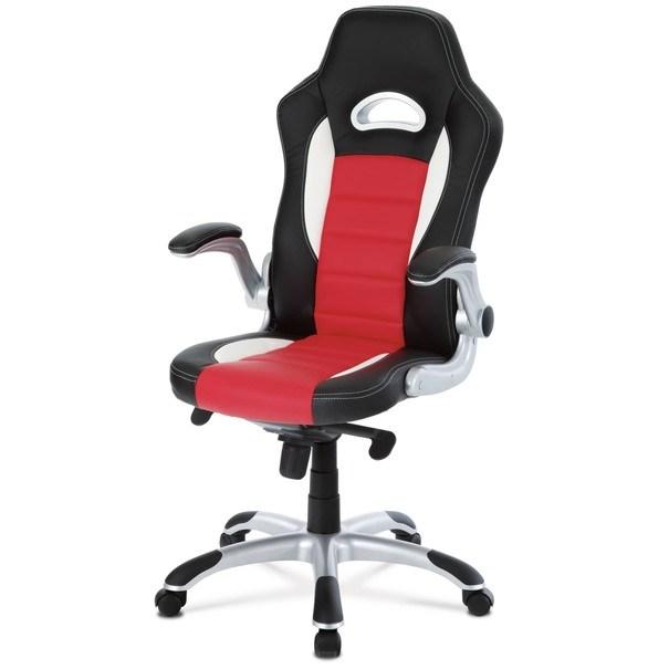 Kancelářská židle  ESTER červená/černá 1