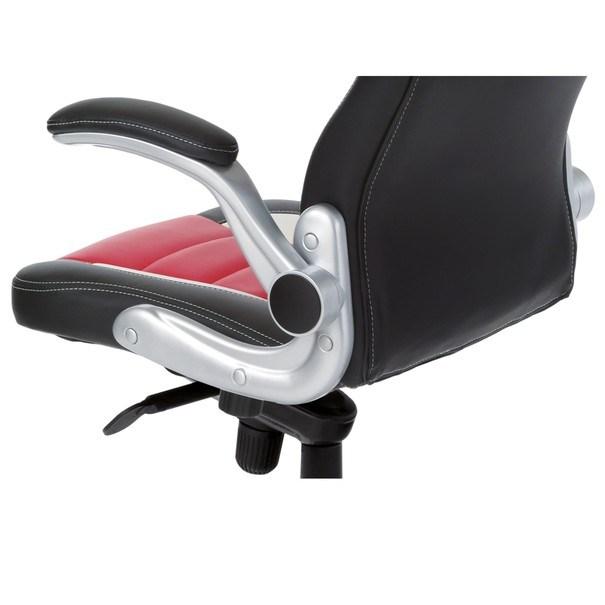 Kancelářská židle  ESTER červená/černá 6