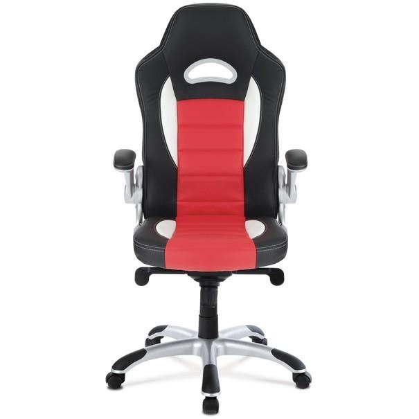 Kancelářská židle  ESTER červená/černá 12