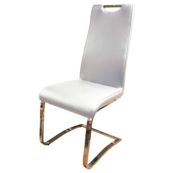 Stolička  EUGEN biela 1